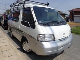 マツダ ボンゴバン 1.8 GLスーパー 低床 ハイルーフ ETC 社外ナビ ルーフキャリアー