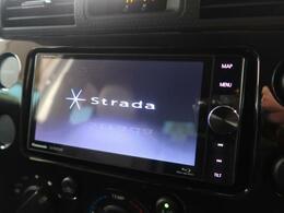 【社外SDナビ】社外SDナビが搭載されています。走行中の操作が出来、大変便利です。