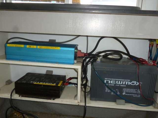 走行充電&サブバッテリーシステム