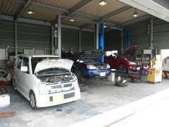輸入車から国産、トラックまで、どんな車でも対応します。