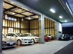 そして・・商品化された、こだわりのホンダスポーツ車は常時、屋内保管・屋内展示です!当社は希少な車両が多いですよ~。