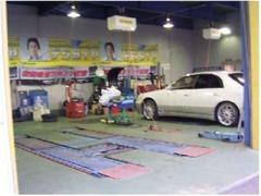 指定工場です!お客様が安心してお乗り頂ける様しっかり整備・点検!車検整備も当店にお任せください!