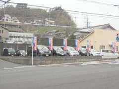 当店では各種新車・セダン・1BOXカー・軽CAR・輸入車まで幅広く取り扱っています!展示車の品質に自信があります!