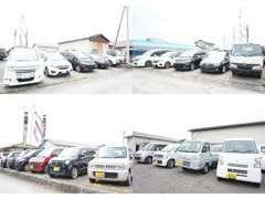 ☆第2展示場です☆軽・コンパクト・ワゴン・4WDなど常時45台~在庫しています☆