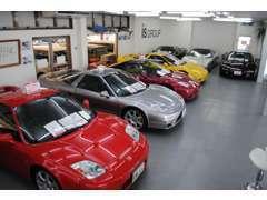 ホンダNSXや日産GT-Rなど、日本を代表する国内最大級の専門店!