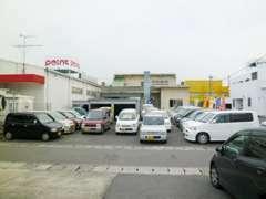Point谷山店さんを目印に、鹿児島銀行卸本町支店さん横が当店です!