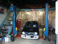 自社工場完備だから車検や修理、整備までアフターサービスもバッチリ!
