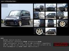 当社デモカー『KAZ-SUS フルコンバージョンキット・スペーシア』詳しくは当社ホームページhttp://kaz-sus.com/を御覧下さい♪