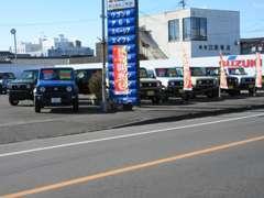 ダイハツ・スズキ・ホンダ他、各メーカーの軽カーを比べてみてください!
