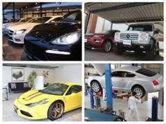 車両は、屋根の下に展示しており品質管理は徹底しております。
