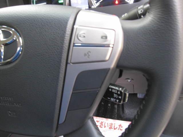 安定した高速道路運転ができる、クルーズコントロールが装備です
