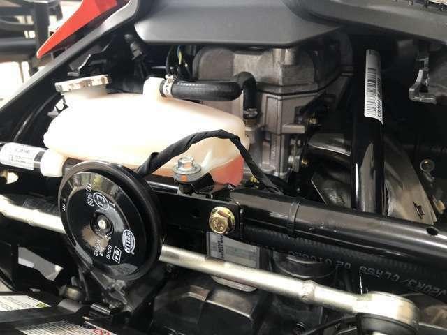 ROTAXエンジンはトルクフルで扱い易い特性です。