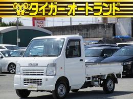 スズキ キャリイ 660 KCエアコン・パワステ 3方開 4WD 4WD 5速 エアコン パワステ Tチェーン