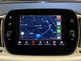 「Apple Carplay」「Android Auto」に対応!スマホを接続すればスマホ内のマップ・ミュージック・通話など使用することができます!