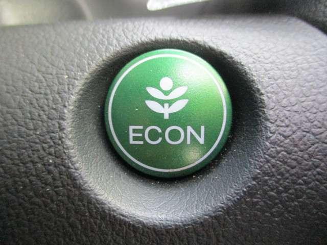 エコドライブに役立つECONモード装備です!エンジン回転数やエアコンのきき方等を自動調節し、ガソリン消費量を抑えます◎