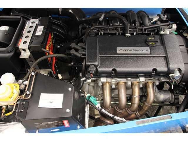 1.6Lフォード製シグマエンジン搭載。長年採用されているエンジンです。