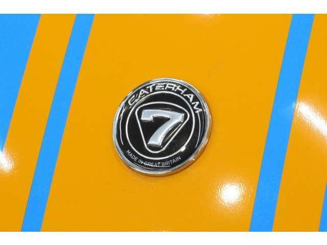 デカールパックにより、マリーゴールドのストライプが施工されております。(66000円)