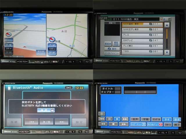 ストラーダHDDナビは地デジ・ブルートゥース・CD録音・DVDビデオ再生機能付で、快適なドライブを演出してくれます!!