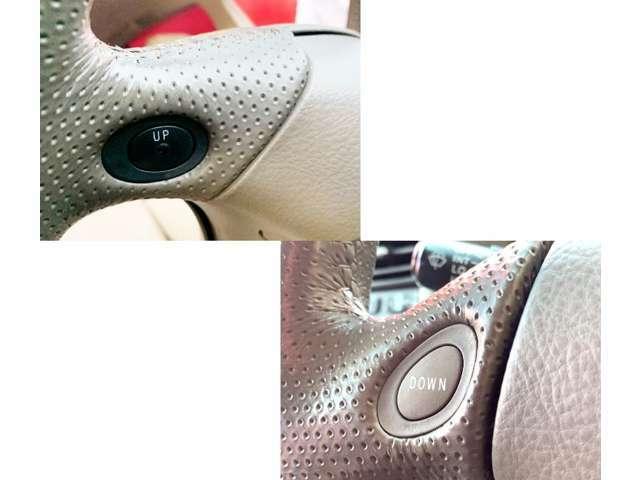 パドルシフトがついていますので、手元でシフトダウン・アップできて便利です。安全運転にもつながります。