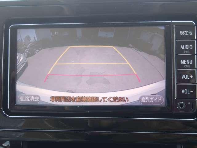 バックカメラ付き♪駐車もらくらく♪