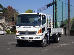 日野自動車 レンジャー 4700D タダノ3段クレーン 3トン積 NOx適合