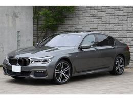BMW 7シリーズ 740i Mスポーツ アイボリー革 OP20インチAW サンルーフ