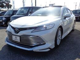 トヨタ カムリ 2.5 G レザーパッケージ サンルーフ・革シート・衝突被害軽減システ