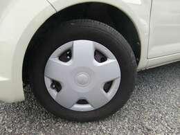 タイヤの溝は、前後共に78分山程度残っていますよ(>。<)♪