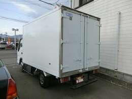 スタンバイ冷蔵冷凍車ですが、外部の線はありません