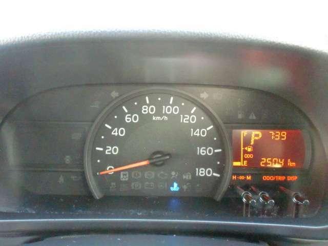 シンプルで見やすいスピードメーターです!