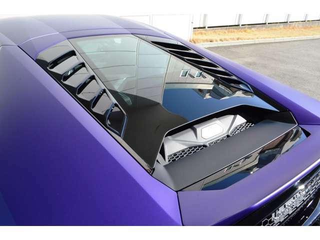 メーカーオプション:ガラスエンジンボンネット&LEDを装備しています。