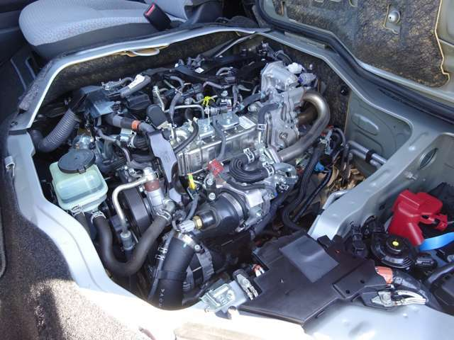 2800ccディーゼルターボエンジン(1GD-FTVタイミングチェーン式)が搭載されています。