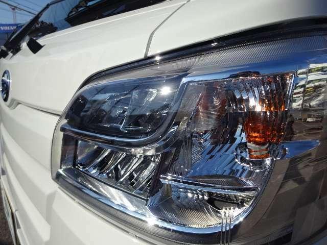 LEDヘッドライト付