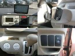 便利なスマートキー車♪社外ユピテルの地デジナビに純正バックカメラ付きCD装備です♪年中快適な温度設定が可能なオートエアコンも標準装備です♪