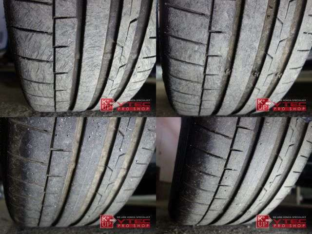 タイヤの溝も使用可能レベルです。消耗後の交換も当店にお任せください。ご予算、ご用途にあわせて銘柄をご提案いたします。タイヤの種類に詳しくない方でも御安心ください!