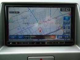 社外メモリーナビ(クラリオンNX711) CD・DVD再生 CD録音可 フルセグTV Bluetooth対応★携帯電話にダウンロードした音楽が車内でも楽しめます。ハンズフリー通話も可能です!