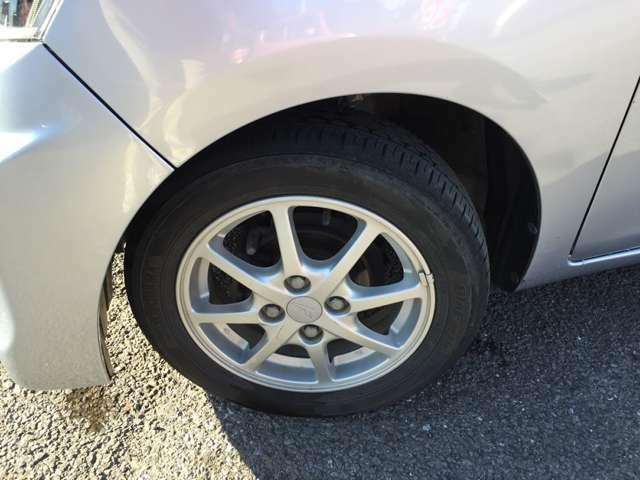 タイヤの溝がなければ交換いたします!