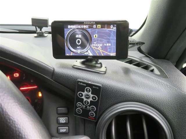 セーフティレーダー搭載。安全運転をサポートします。