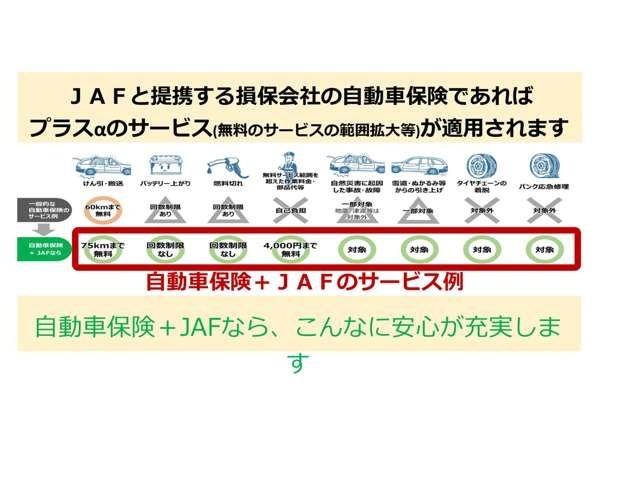 Aプラン画像:他ロードサービスでは対応できないこともJAFなら対応できます♪
