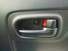 集中ドアロックシステム搭載ですべてのドアの施錠と解錠が可能です。