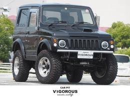 スズキ ジムニー 660 ワイルドウインド 4WD リフトアップ 15AW オーバーフェンダー