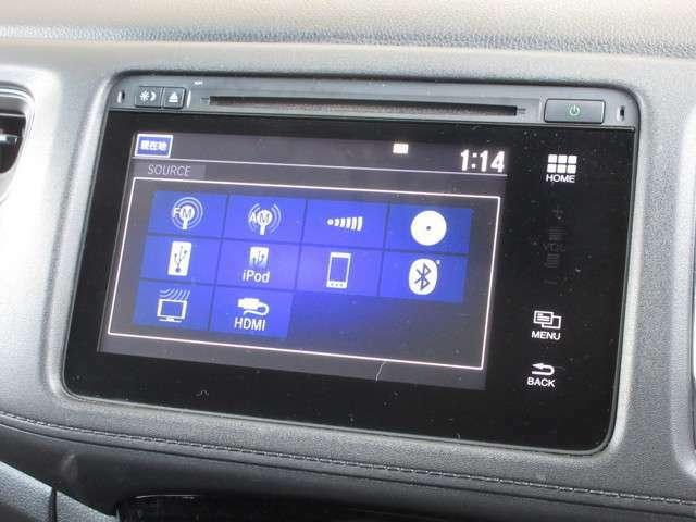ナビゲーションはホンダ純正メモリーナビを装着しております。AM、FM、CD、DVD再生、Bluetooth、フルセグTVがご使用いただけます。初めて訪れた場所でも道に迷わず安心ですね!
