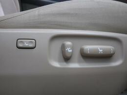 シートリクライニングの調整が簡単なパワーシート対応☆