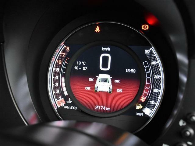 ■TFT液晶メーター(スピードメーターなどの基本情報や燃料計、水温計、燃費計等が表示されます。)
