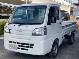 ダイハツ ハイゼットトラック 660 スタンダード 3方開 ナビ・フルセグTV・パワステ・MT