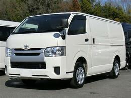 トヨタ ハイエースバン 2.0 中温冷凍バン ロング ジャストロー 最低設定温度-7℃ 冷蔵冷凍車 8ナンバー