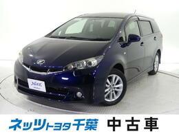 トヨタ ウィッシュ 1.8 S /タイヤ4本新品・HDDナビ・ワンセグ・1オナ