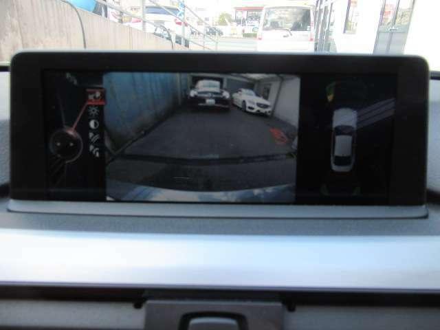 ●【お車の装備について3】安心のバックカメラ&コーナーセンサー付き!初めて輸入車を乗られる方でも先進技術がお客様の運転をしっかりサポート!