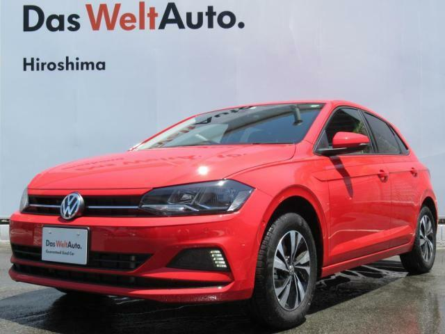 <MY2019 Polo TSI Comfortline Technology &Safety Package>弊社社用車、登録未使用でございます。