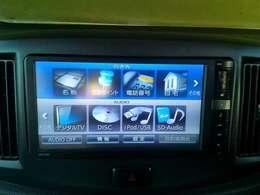 デジタルテレビ・DVDビデオ再生・SDオーディオ録音・ブルートゥース接続など多彩な機能付きです!